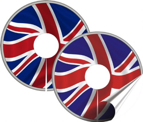 GB FLAG Wheelchair Spoke Guard Sticker Skins